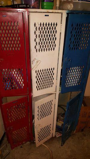 6 metal storage lockers for Sale in Colorado Springs, CO