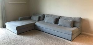 Modern Grey Sectional Sofa Couch for Sale in Redondo Beach, CA