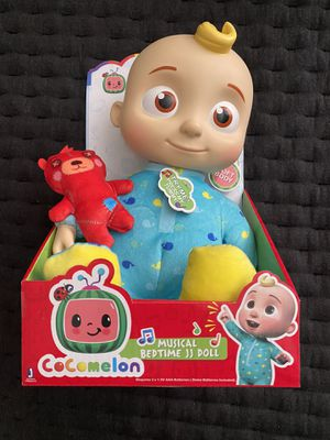 "CoComelon Roto JJ Doll Bedtime Soft 10"" Plush Sing Toy for Sale in Richmond, CA"