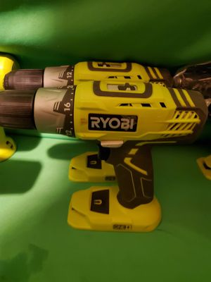 RYOBI CORDLESS 18V DRILL NEW for Sale in Beaumont, CA