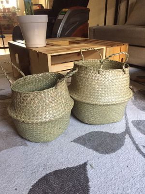 Plant baskets for Sale in San Diego, CA