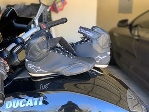 Alpinestars motorcycle shoes size 10 for Sale in Arlington, TX