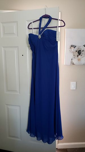 ROYAL BLUE mother of the bride dress for Sale in Oceanside, CA