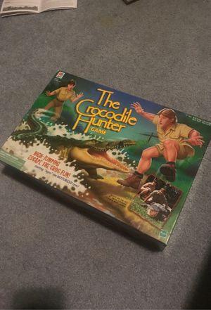 The crocodile hunter board game for Sale in Graham, WA