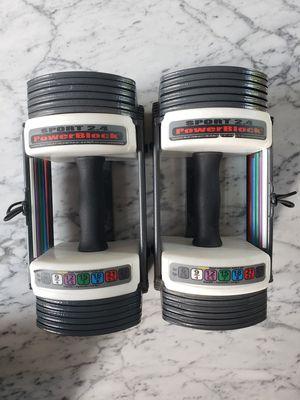 PowerBlock Adjustable Dumbbells for Sale in Kenmore, WA