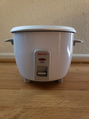 Aroma rice cooker and food steamer model ARC-703G for Sale in Del Mar, CA