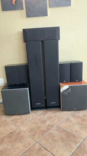 Polk audio surround sound speakers for Sale in Avondale, AZ