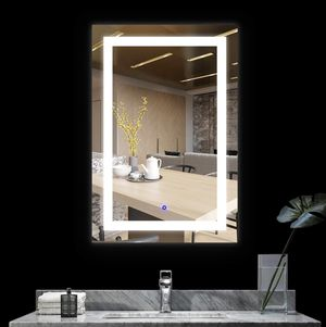 BEAUTY/MAKUP MIRROR HOTEL GRADE VANITY MIRROR WITH BUILT IN LED LIGHTS!!!! for Sale in Austin, TX