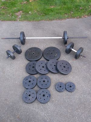 215 Pound Weight Set for Sale in Tacoma, WA