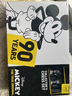 Brand New Mickey Chess Set | Disney Mickey for Sale in Seattle, WA