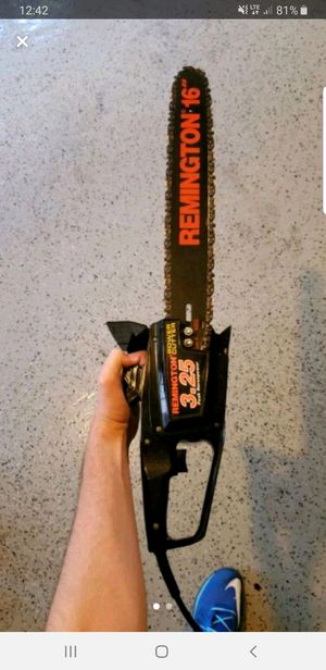"Remington 3.25hp 16"" Chainsaw for Sale in Oakton, VA"