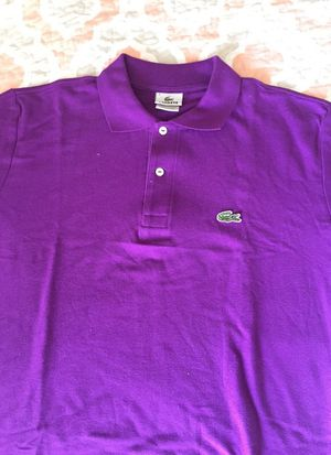 Lacoste large purple polo for Sale in Gaithersburg, MD