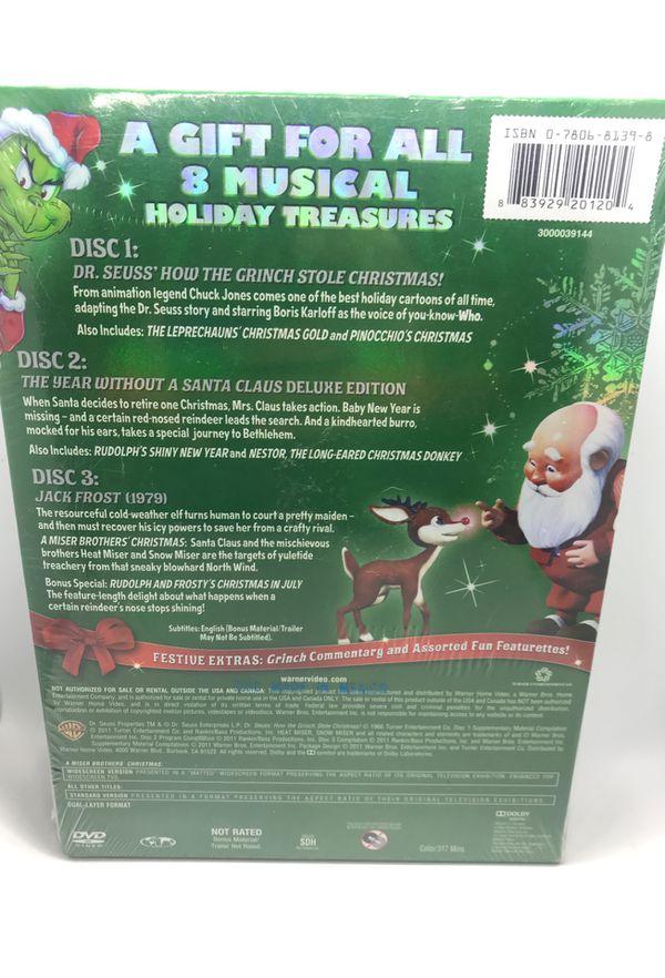 Santa's Magical Stories DVD brand new