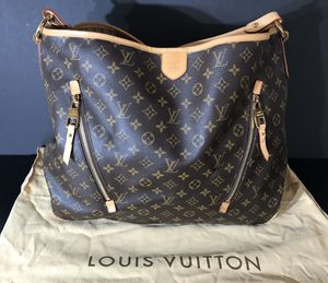 GENTLY USED *AUTHENTIC LOUIS VUITTON DELIGHTFUL GM HANDBAG - INCLUDES: ORIG. BOX, GIFT BAG, DUST COVER & PIC OF ORIG. RECEIPT *SERIOUS BUYERS ONLY* for Sale in La Mesa, CA