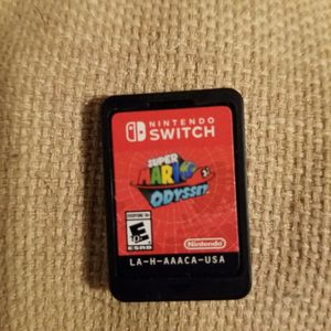 SUPER MARIO ODYSSEY FOR NINTENDO SWITCH for Sale in Phoenix, AZ