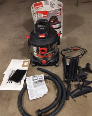 8 Gallon Wet Dry Shop Vac portable, stainless 6.0 HP for Sale in Chico, CA