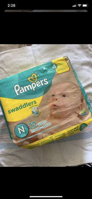 Pampers Diapers for Sale in Vista, CA