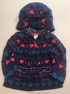 Carter's hooded jacket 18 mos for Sale in Palm Springs, CA