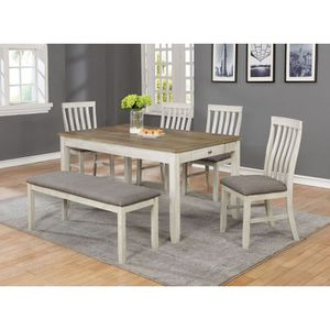 Table, 4 Chairs & Bench for Sale in Peoria, AZ