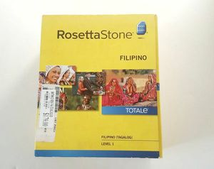 Rosetta Stone Filipino for Sale in Riverdale, MD