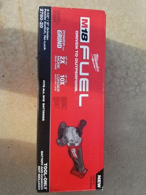 """M18 Milwaukee Fuel Brushless 4 1/2"""" - 5"""" Grinder Brand NEW !!!! for Sale in Bakersfield, CA"""