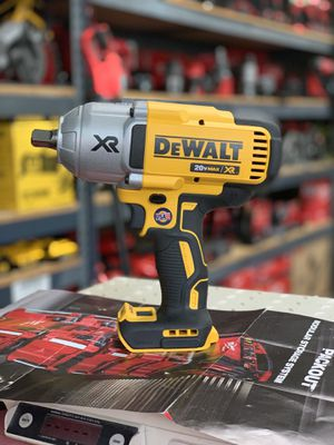 DEWALT 20v XR CORDLESS 1/2in IMPACT WRENCH HIGH TORQUE NO BATTERY OR CHARGER INCLUDED TOOL ONLY SOLO LA HERRAMIENTA for Sale in Moreno Valley, CA