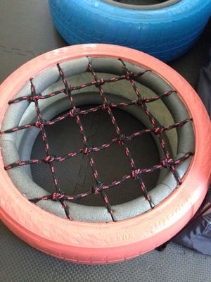 Play games for kids Colored tire set handmade for Sale in Happy Valley, OR