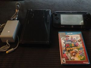 NINTENDO WII U WITH MARIO GAME for Sale in Wyncote, PA
