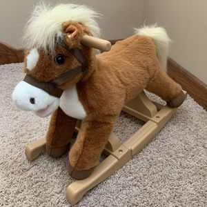 Plush Rocking Horse for Sale in New Lenox, IL
