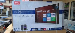 "65"" TCL 4k UltraHD Smart Roku HDR LED Tv for Sale in Chula Vista, CA"