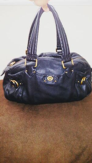 Marc Jacobs leather bag black for Sale in Germantown, MD