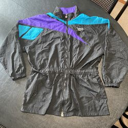 Vintage VTG 1990s 90s Reebok Color Block Retro Women's Zip Up Jacket for Sale in Tacoma,  WA
