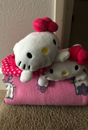 (2) Hello Kitty Purse/Bags & Blanket -priced INDIVIDUALLY for Sale in San Diego, CA