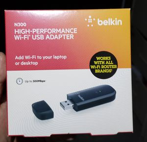 Belkin N300 wireless USB for Sale in San Antonio, TX