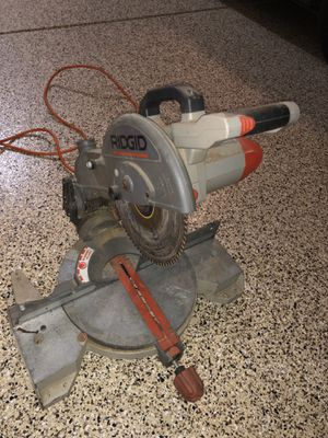 Rigid chop saw for Sale in Bakersfield, CA