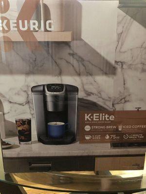 K cup machine- K Elite Series- Keurig for Sale in Lynn, MA
