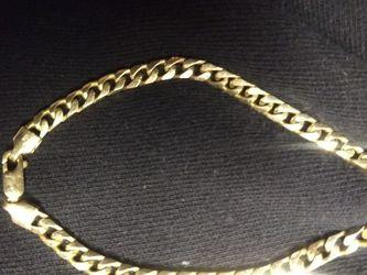 14k Gold Chain Link Bracelet for Sale in Sacramento,  CA