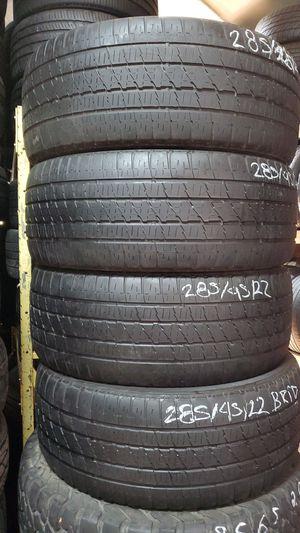 285/45/22 Bridgestone Tire Set for Sale in Chula Vista, CA