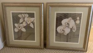 Gorgeous framed orchids artwork for Sale in Winter Springs, FL