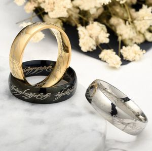 Gold and Black Tungsten One Ring Lord of th Ring One Ring Tungsten Ring Band for Sale in Glendale, AZ