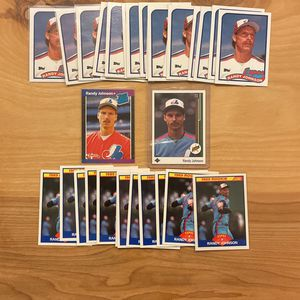Randy Johnson Rookie Lot for Sale in McCleary, WA