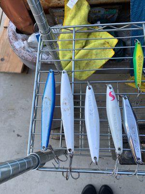 Iron jigs deep sea for Sale in Palmdale, CA