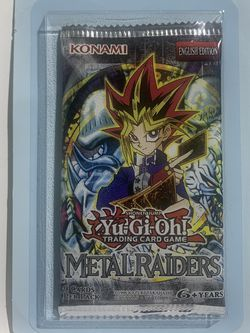 Yu-Gi-Oh! Metal Raiders Blister Booster Packs! Factory Sealed! MRD for Sale in Los Angeles,  CA
