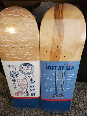 Atlas Nike Lost at Sea Skate Decks for Sale in Apple Valley, CA