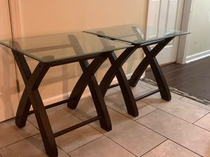 Glass End Tablea for Sale in Goose Creek, SC