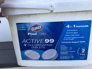 Pool Chlorine Tablets for Sale in Woodbridge, VA