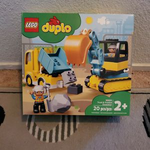 New Lego Duplo Truck & Tracked Excavator ($20 Value) for Sale in Ripon, CA