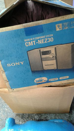 Sony cmt-nez30 for Sale in Fitzgerald, GA