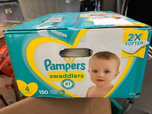 Pampers size 4 150 count for Sale in Woodruff, SC