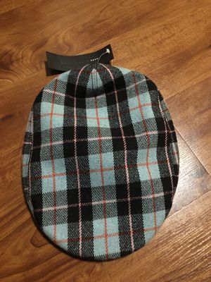Marc Jacobs wool pink and blue hat worn once still good condition and clean OBO. Includes the white leather one but has a small stain for Sale in San Francisco, CA